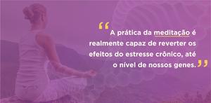 meditação reverte efeitos do estresse crônico
