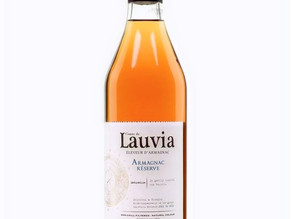 Excited to share that our own Comte de Lauvia Reserve Armagnac was rated 96 points!