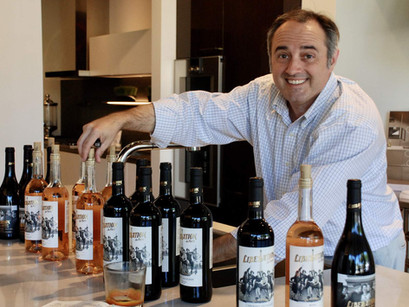 Houston personalities: Meet the man who developed a wine brand that raises funds for US soldiers