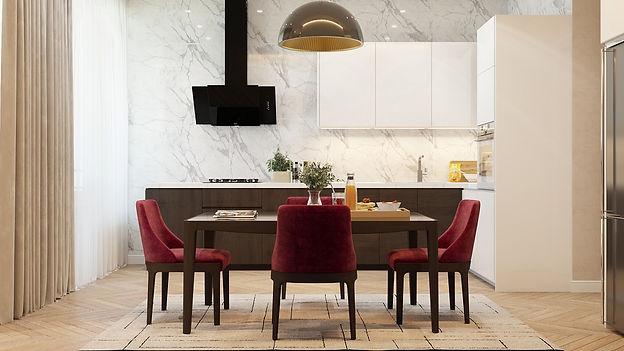 luxury intrior designer dining room