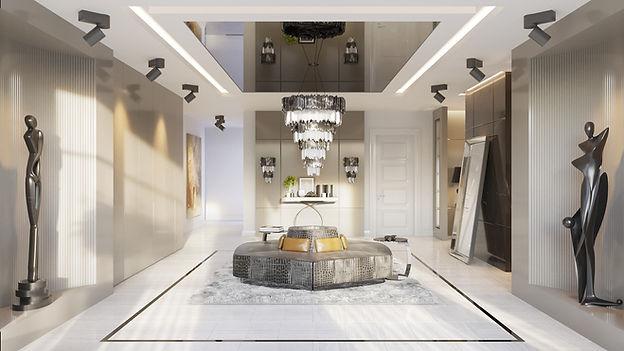 luxury intrior designer entrace hall