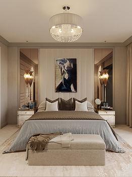 neutral bedroom luxury intrior designer