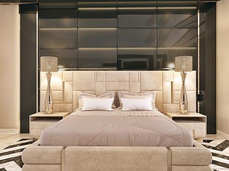 luxury intrior designer modern bedroom