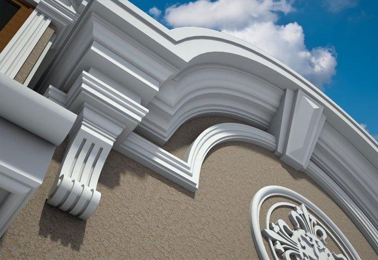 Exterior Architectural Foam Trim