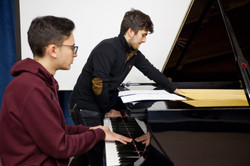 Greek Students present New Music