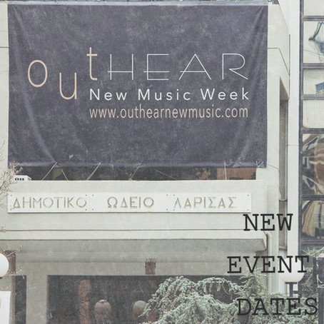 outHEAR is postponed until 1-10 APRIL, 2022