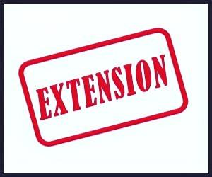 Extended application deadline