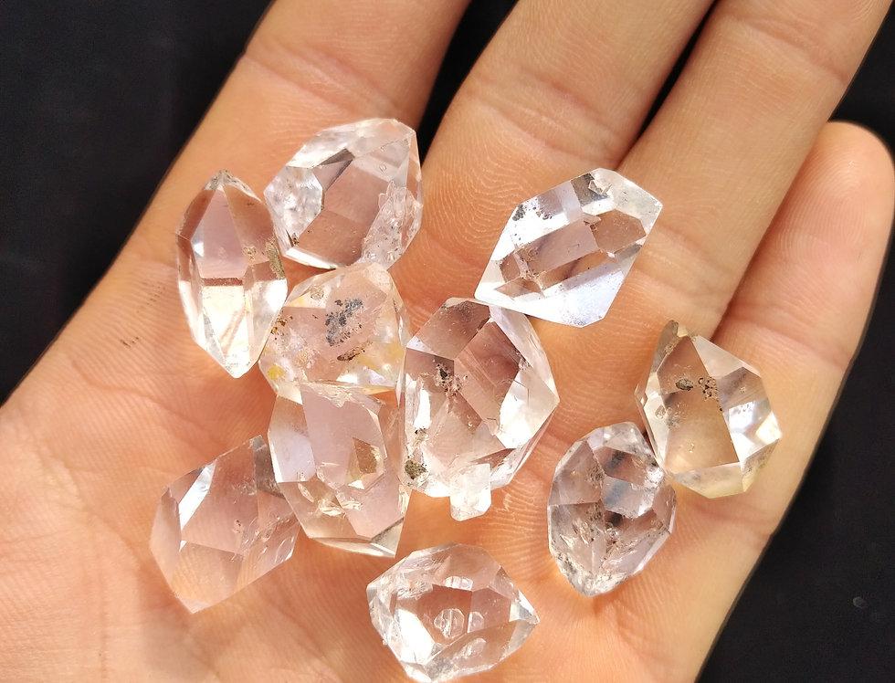 (3) 17mm - 23mm Herkimer Diamonds