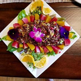 Our organic citrus summer quinoa salad s