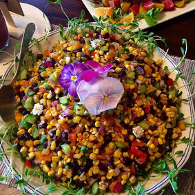 Our summer black bean corn salad...we ad