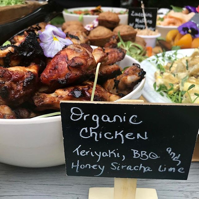 Keep it local, organic, super fresh and