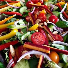One of our organic jeweled salads...alwa
