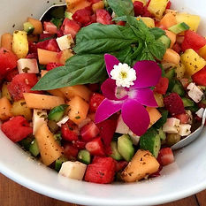 Our organic summer salad...loaded with f
