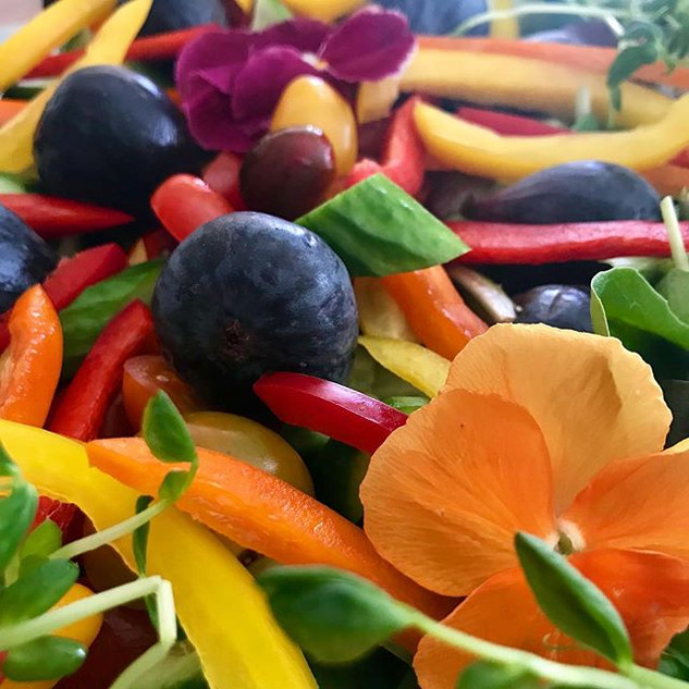 Organic salads are one of our favorite t