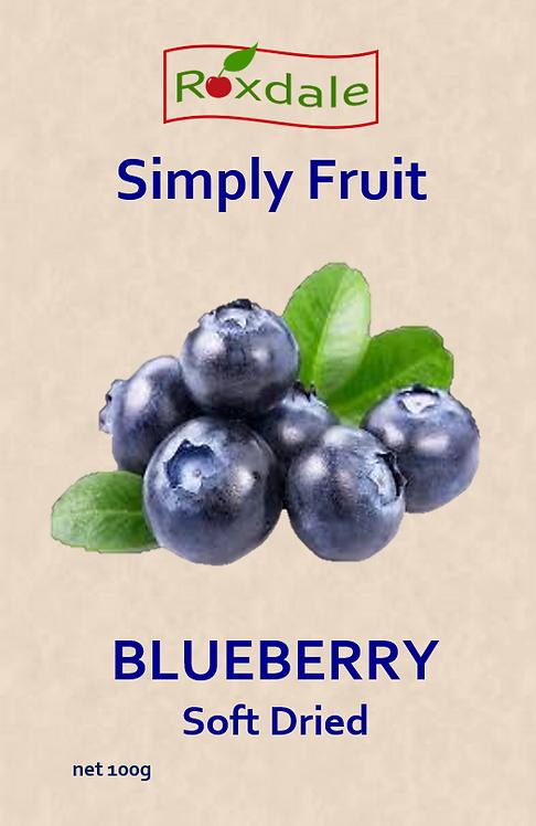 Soft-Dried Blueberries (5x100g)