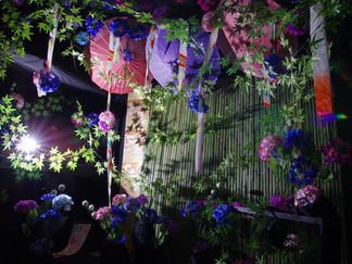 紫陽花ブース完成&7月迄新キャンペーン
