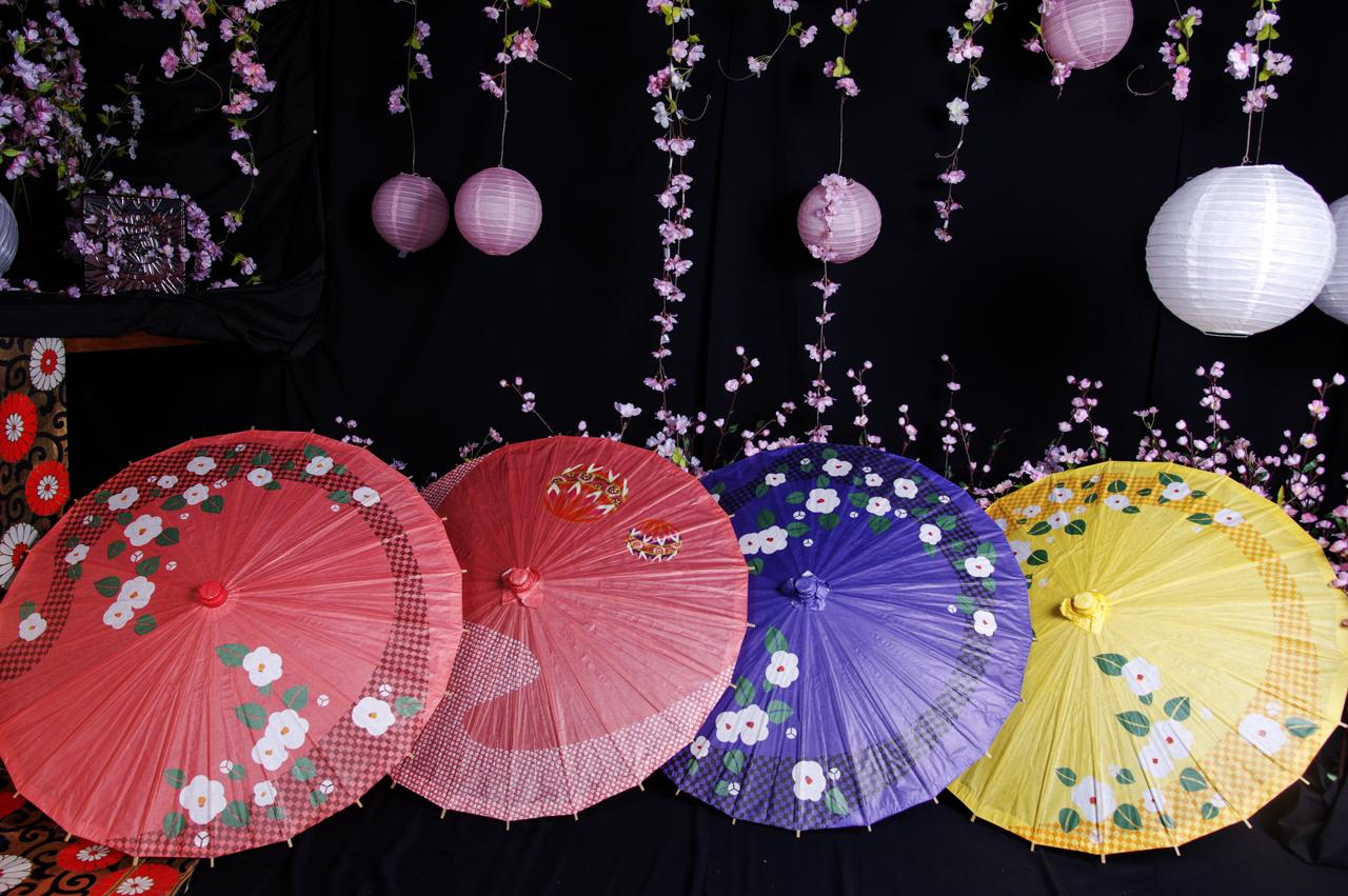 番傘(柄物)