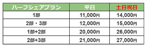ハーフシェア料金表.png