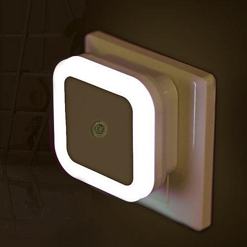 Luz de noche LED Mini control de sensor de luz 110V 220V