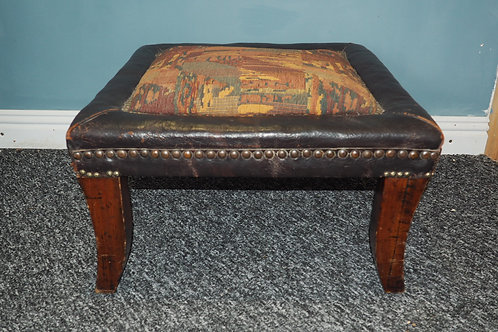 Large Antique Footstool