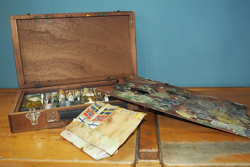 Vintage Windsor & Newton Artists Paint Pallet