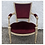 Thumbnail: French style red vintage chair