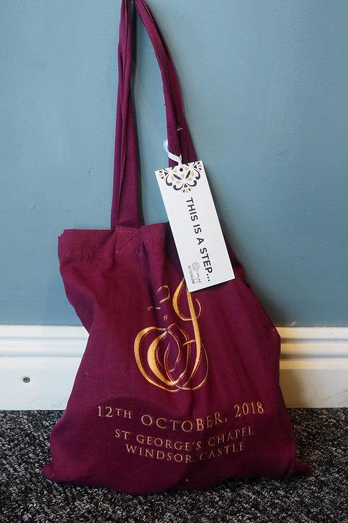 Princess Eugenie Royal Wedding Gift Bag, Invite & Gifts