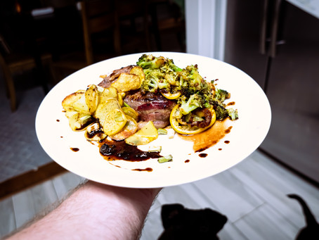 Lights, Camera Mise en Place Part 1.