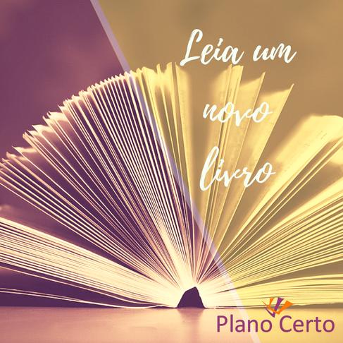 Que tal ler um bom livro?