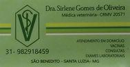 Médica Veterinária Sirlene Gomes de Oliveira
