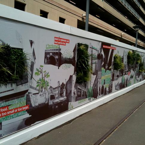 UTS - green wall