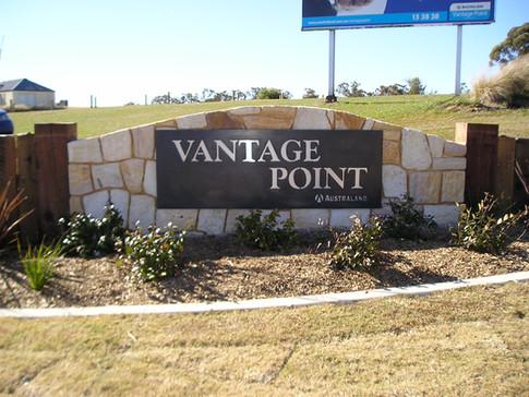 Vantage Point entrance statement