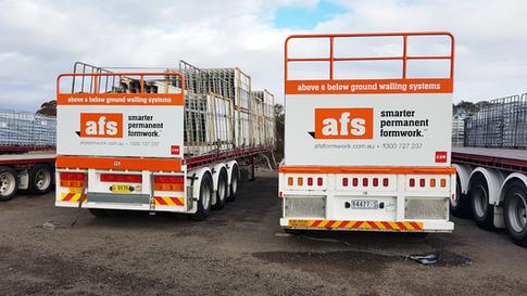 AFS Trailer Fleet refurb