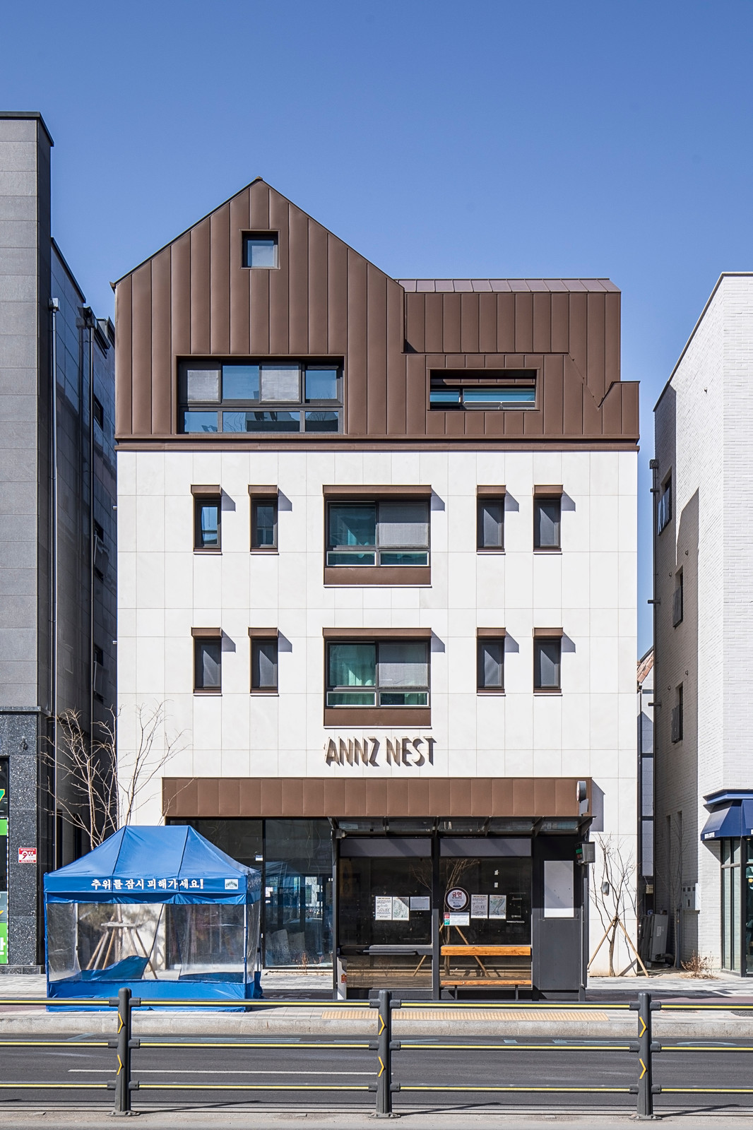 Completion of 'ANNZ NEST' Construction
