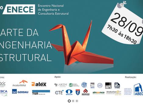 Edição de 20 anos do ENECE discute a arte na engenharia estrutural