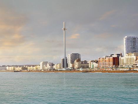 Torre Brighton i360 é a torre mais esbelta do mundo com apenas 3,9 metros de diâmetro