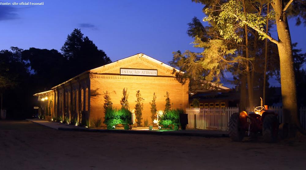 Estação Atibaia, onde será realizada a Feconati