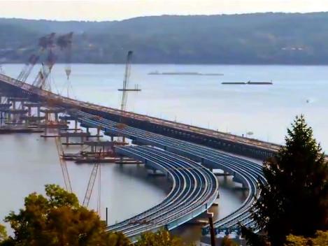 Vídeo revela números impressionantes sobre a construção da Nova Ponte de Nova Iorque, uma das obras