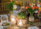 Mariage en Bourgogne, décoration de marige
