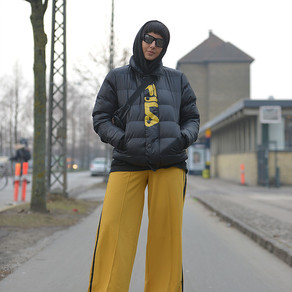 Copenhagen Fashion Week, wearing FILA & LAPP