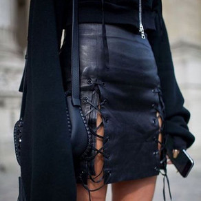 LOVE IT! SO I MADE IT - Lace up skirt Trend