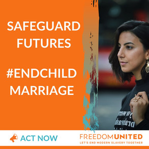 Why I am campaigning to #EndChildMarriage