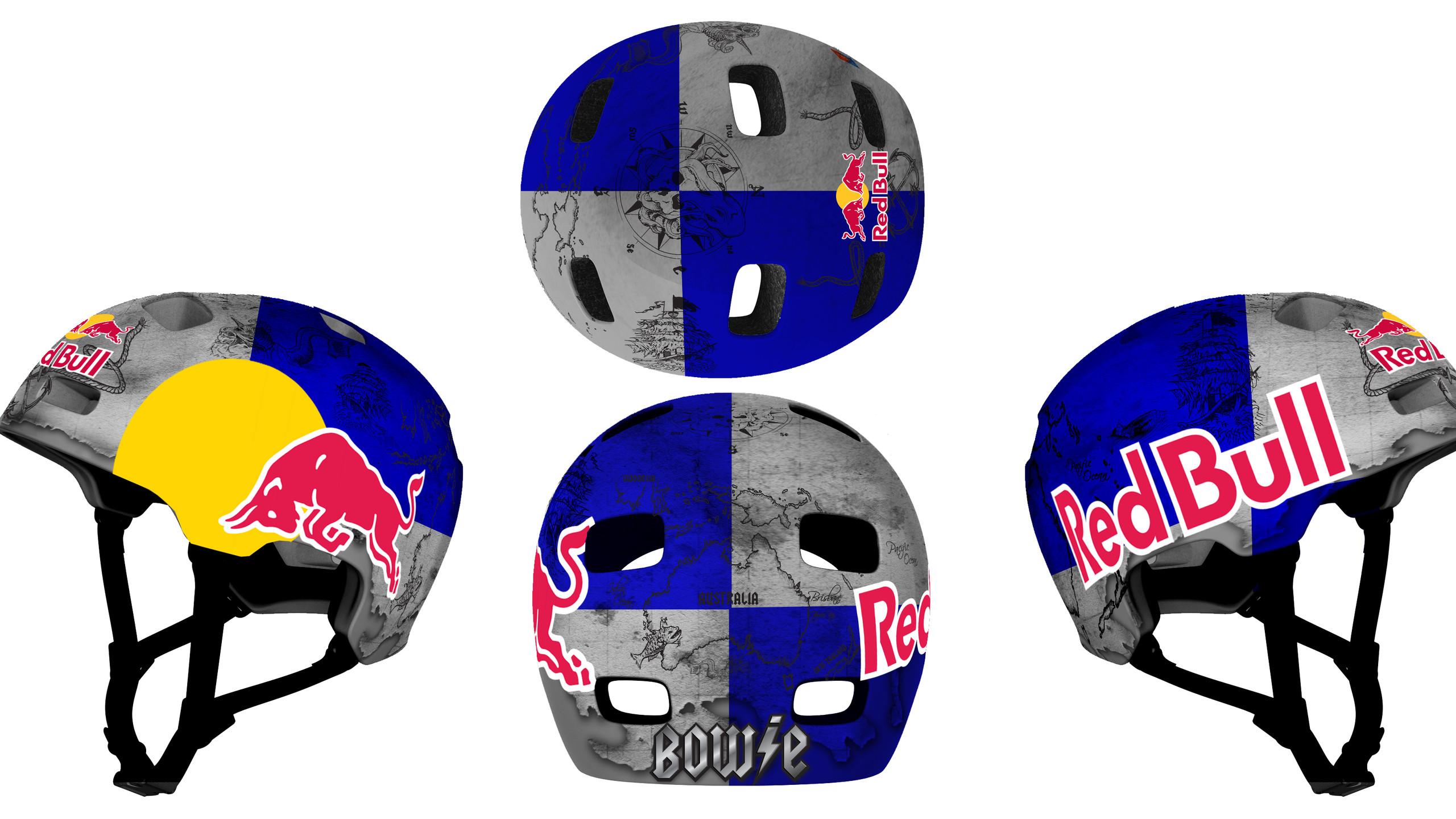 Corey Bohan Helmet 3D Render