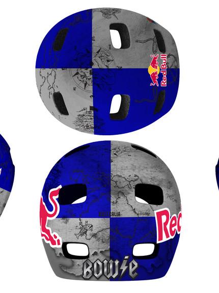 DESIGN: Red Bull - Corey Bohan Helmet