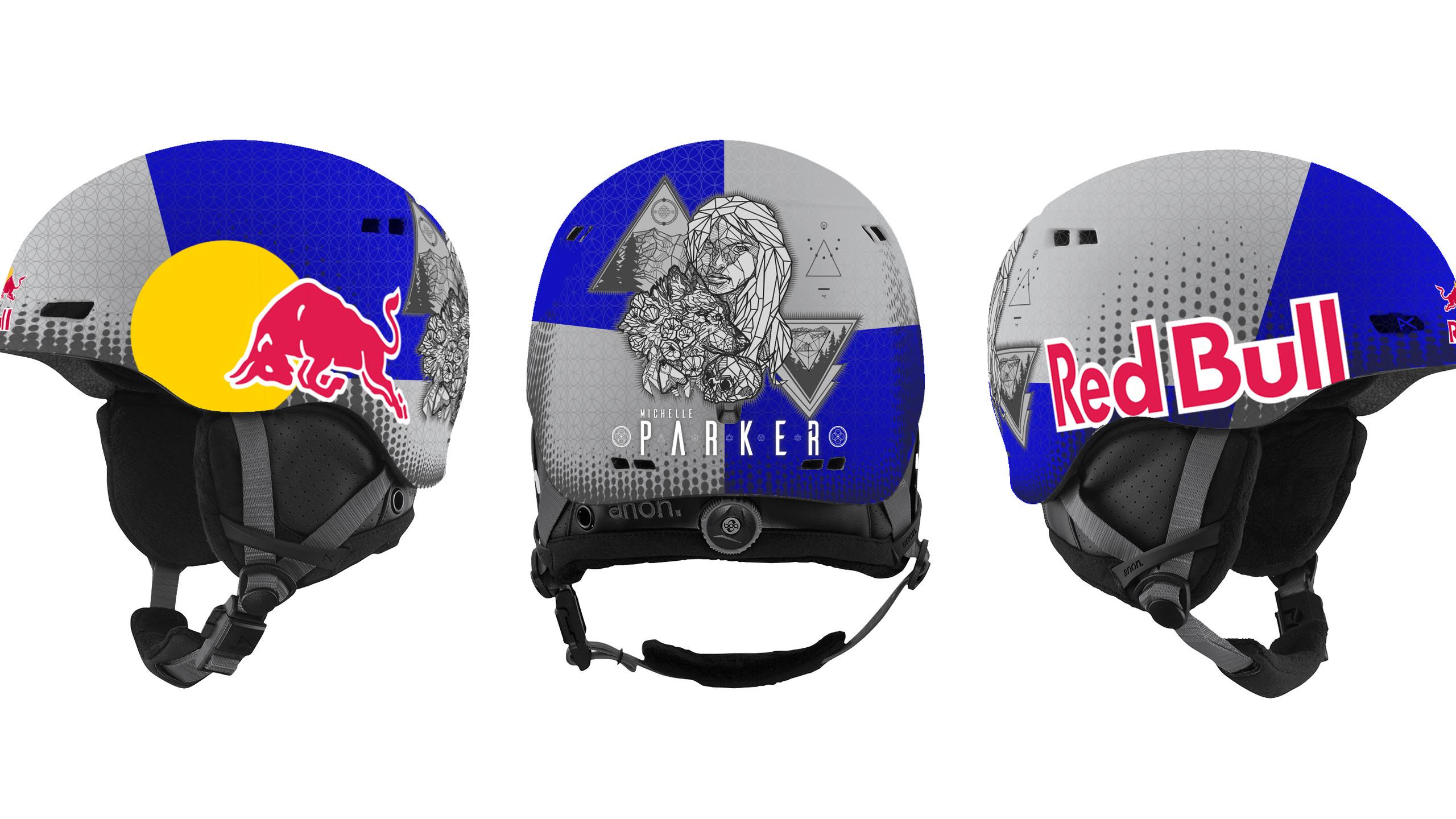 Michelle Parker Helmet Design 3D