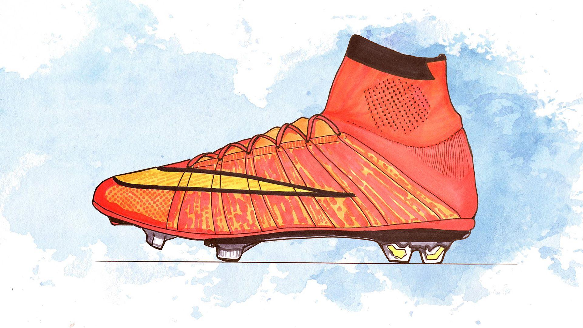 Nike Mercurial 2014ercurial-history2