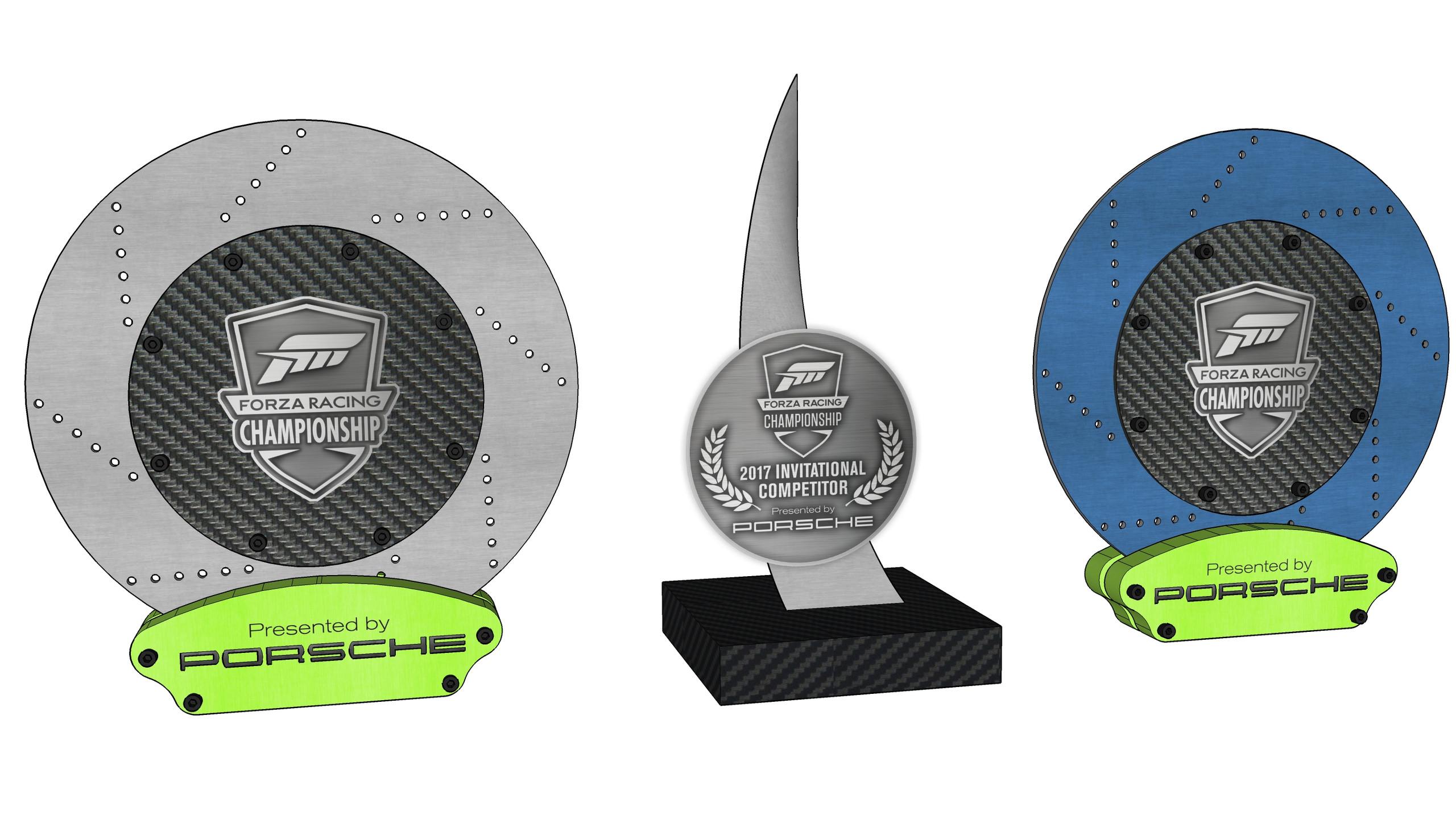Forza Racing Trophy Mockup