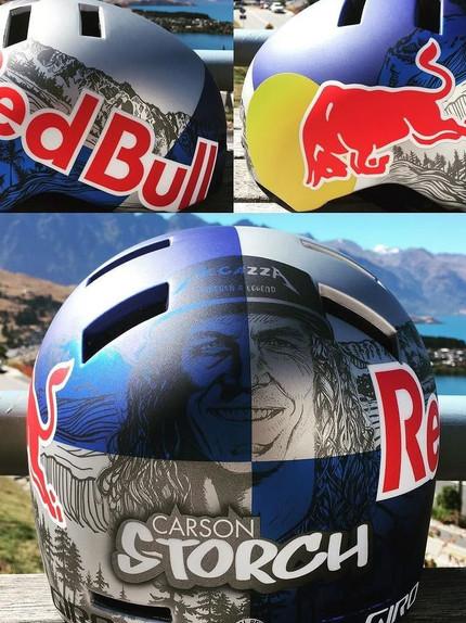 DESIGN: Red Bull - Carson Storch Helmet