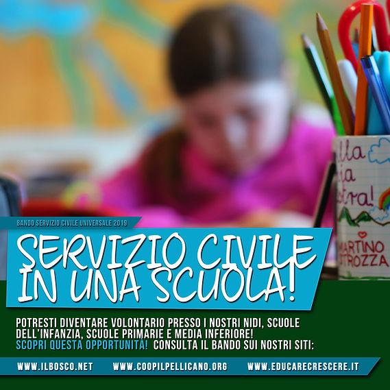 Bando promozione Servizio Civile Univers