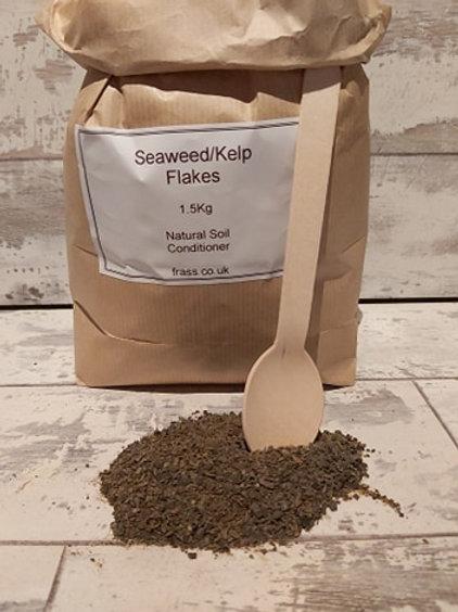 Organic Seaweed Flake Natural soil Conditioner 1.5kg